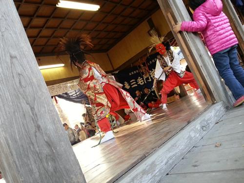 三毛門神楽